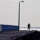 'Will She Come Home?', Seaford Pier, Victoria, Mornington Peninsula, Australia, Seascape by Ben  Cadwallader