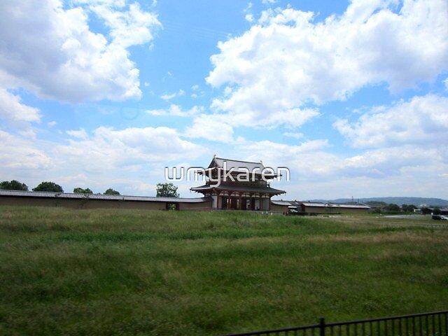sky of Heijo-kyo by wmykaren