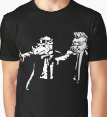 Bebop Rocksteady - Thug life - Pfiction mashup Graphic T-Shirt