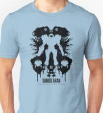 Samus Aran Metroid Geek Ink Blot Test T-Shirt