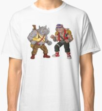 Bebop Rocksteady - Funny big print Classic T-Shirt