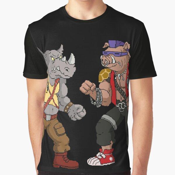 Bebop Rocksteady - Funny big print Graphic T-Shirt