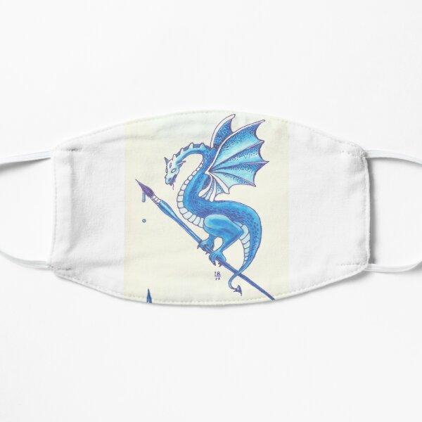 Blue Dragon Art Warrior Mask