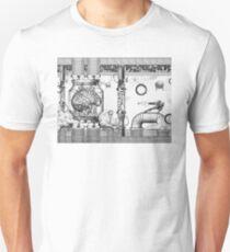 Vintage Metroid Mother Brain Engraving Unisex T-Shirt