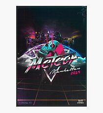 Meteor Manhattan 2019 EP Artwork Photographic Print