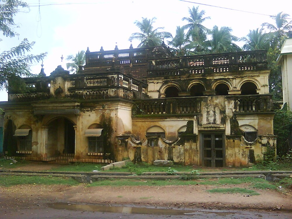 A Traditional Architectural Chettinadu house India by ramabhpl