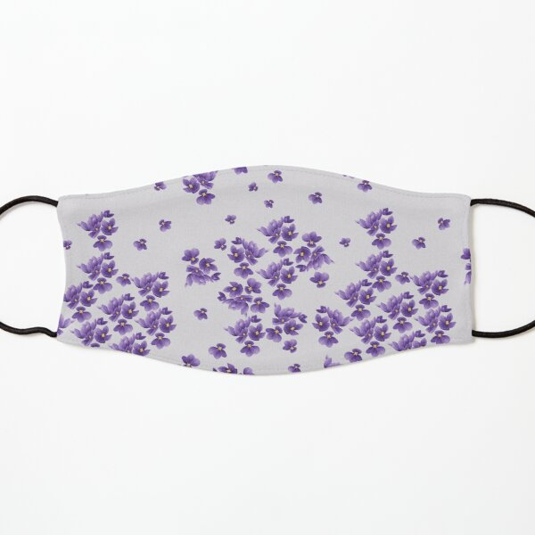 African Violets Kids Mask