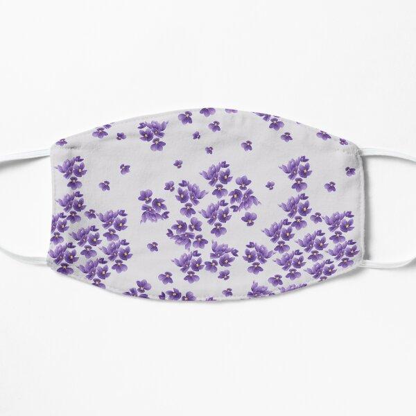African Violets Flat Mask