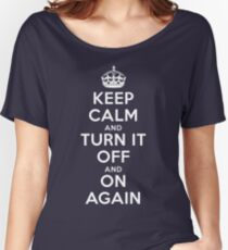 Keep Calm Women's Relaxed Fit T-Shirt