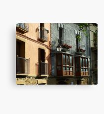 Afternoon on the Walls Canvas Print