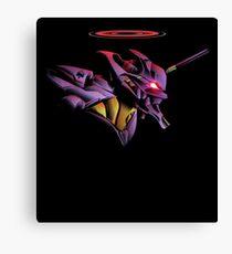 Evangelion Epic Unit 01 Canvas Print