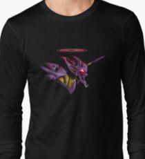 Evangelion Epic Unit 01 Long Sleeve T-Shirt
