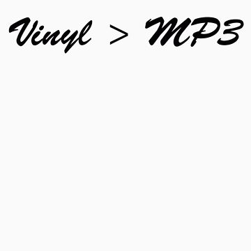Vinyl > MP3 by Wilburino