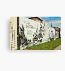 The Story of Thorold Canvas Print