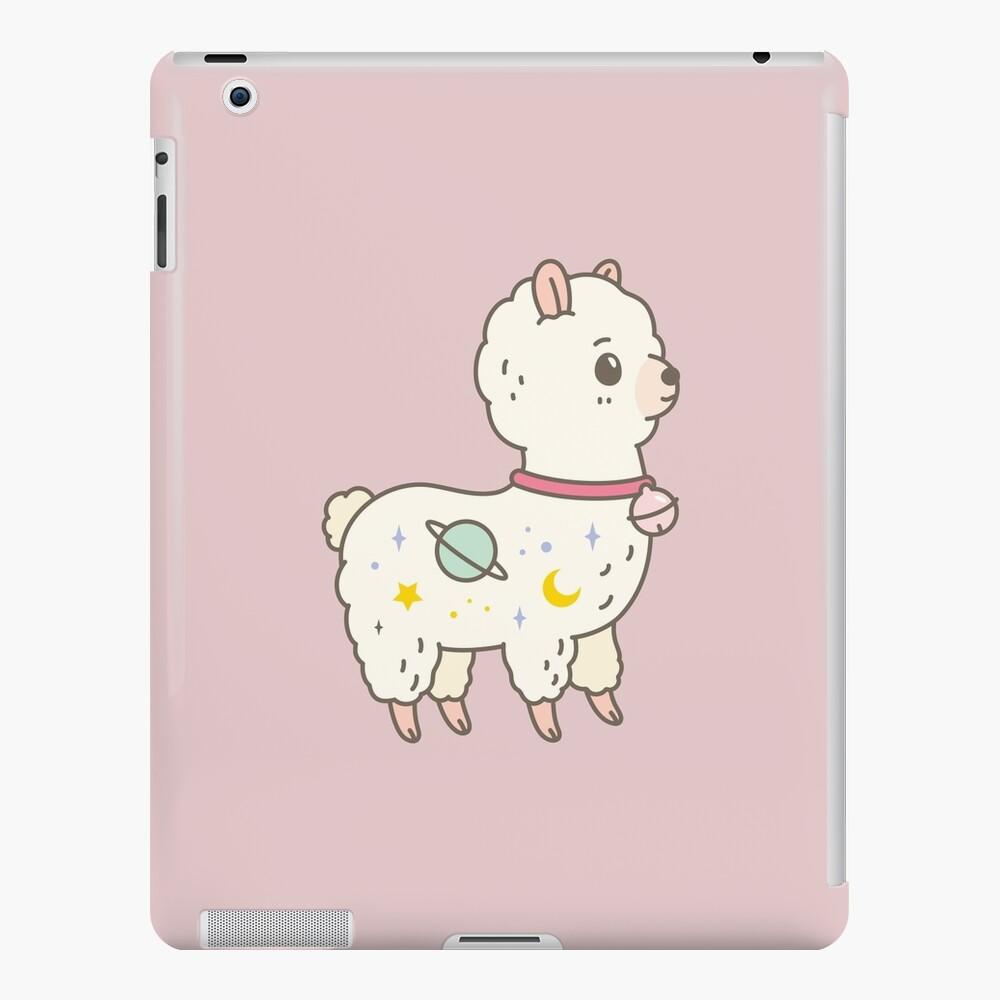 Kawaii Galaxy Alpaca  iPad Case & Skin