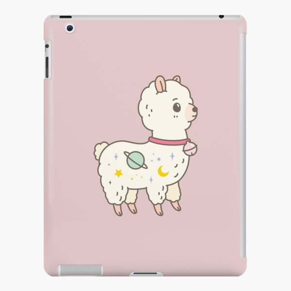 Kawaii Galaxy Alpaca  iPad Snap Case