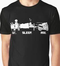 Eat. Sleep.Ride. Graphic T-Shirt