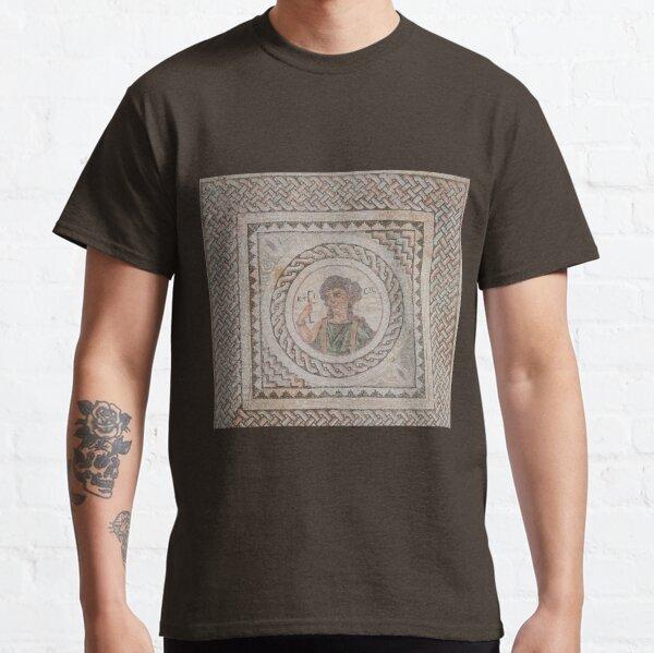 Mosaic depicting Ktisis (Creation) Classic T-Shirt