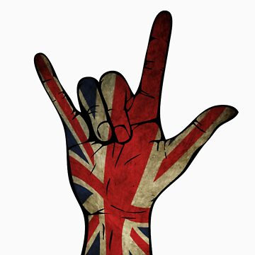English hand by lutchii