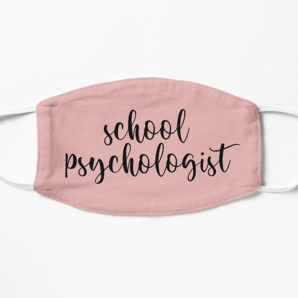 school psychologist Flat Mask