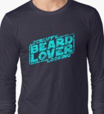 Scruffy Looking Beard Lover Long Sleeve T-Shirt