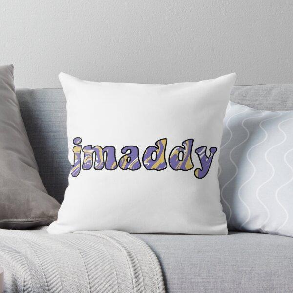 JMU JMaddy Tie Dye Design Throw Pillow