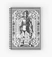 Vintage Link the Hero of TIme Spiral Notebook