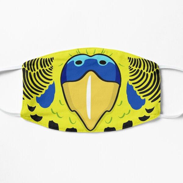 Budgie Beak Mask | Yellow Blue Mask