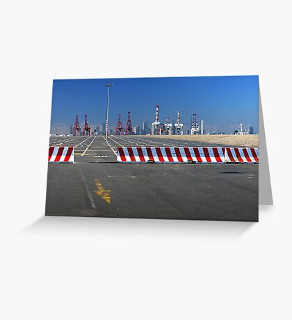 Dock Land Greeting Card