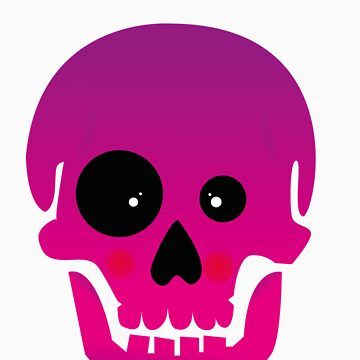 funny dead skull by lutchii