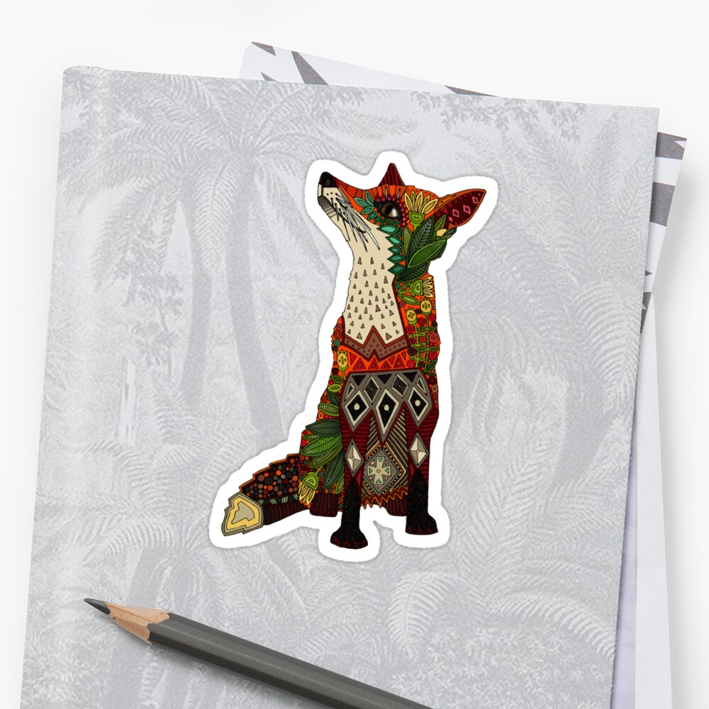Blumenfuchs Sticker