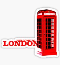 Welcome to London Sticker