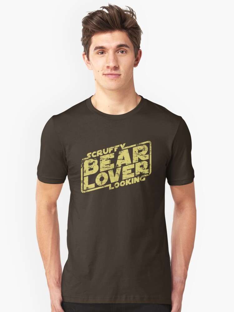 Scruffy Looking Bear Lover Unisex T-Shirt Front