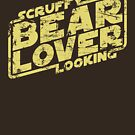 Scruffy Looking Bear Lover by synaptyx