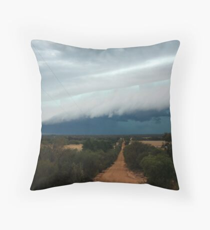 Storm Front Throw Pillow