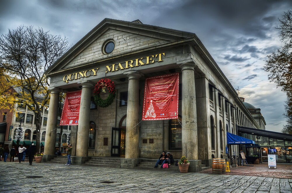Quincy Market Long by jswolfphoto