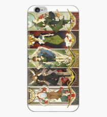 Gundam wing pilots iPhone Case