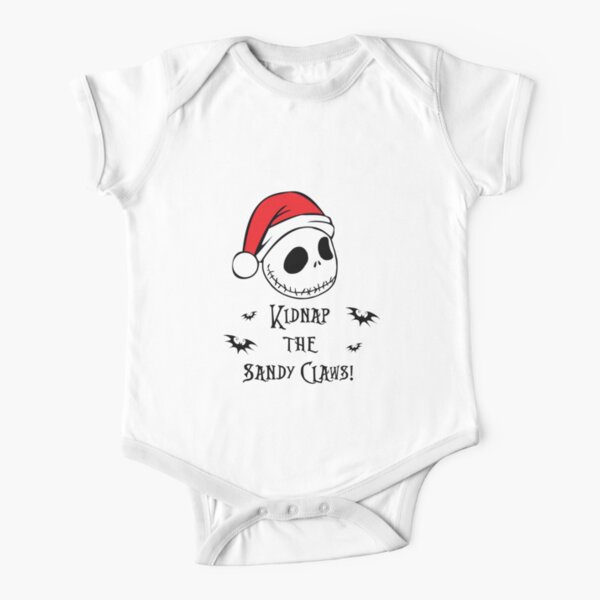 Nightmare Before Christmas - Sandy Claws Short Sleeve Baby One-Piece