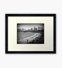 Retro Mumbai... Framed Print