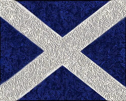 Tribal Scotland by billyrennie
