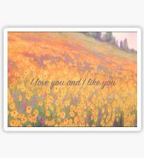 Wildflower Mural Sticker
