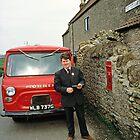 Village Postman, Somerset, England, UK, 1970s. by David A. L. Davies