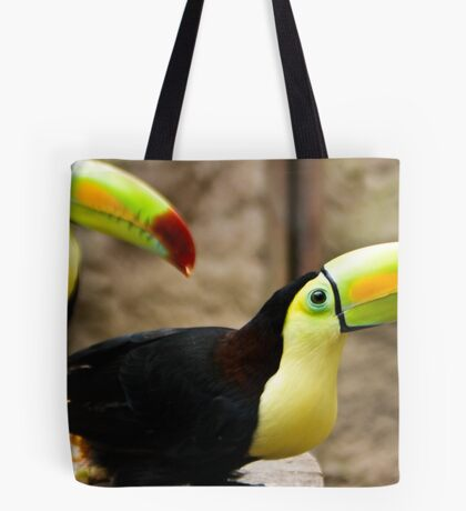 Keel-billed Toucans Tote Bag