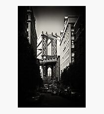Manhattan Bridge Photographic Print