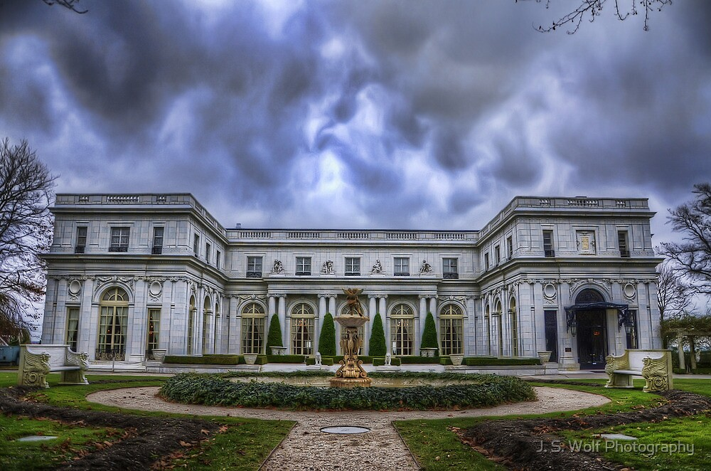 Newport Marble House by jswolfphoto