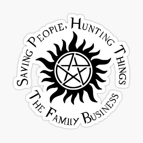 Supernatural Family Business Sticker