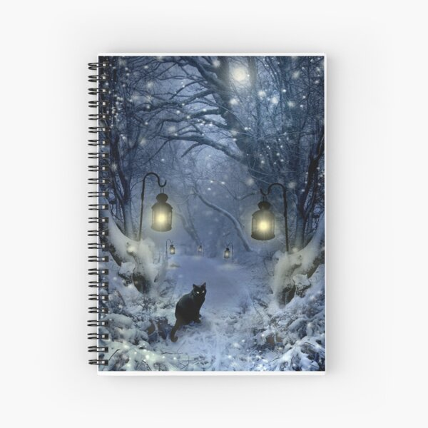 Winter Twilight  Spiral Notebook