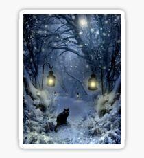 Winter Twilight  Sticker