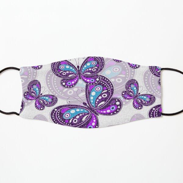 Purple Butterfly Bustle Kids Mask