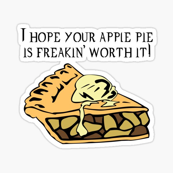 Supernatural - Apple Pie Sticker